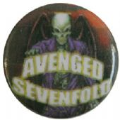 Avenged Sevenfold - 'Mr Deathbat' Button Badge